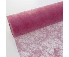 Deko AS GmbH Sizoflor Tischband rosa 30 cm Rolle 25 Meter 60 014-R