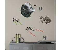 RoomMates RMK3012SCS RM - Star Wars VI Raumschiffe Wandtattoo, PVC, bunt, 29 x 13 x 2.5 cm