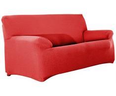 Eysa elastisch Sofa überwurf 4 sitzer Farbe 09-orange Sucre, Polyester, 37 x 17 x 29 cm
