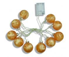 Riffelmacher & Weinberger Weihnachtsbeleuchtung, Gold, 6cm
