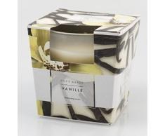 Pajoma Duftkerze Vanille im satiniertem Glas, 124 g, Brenndauer: 25 Stunden, inkl. edler Geschenkverpackung