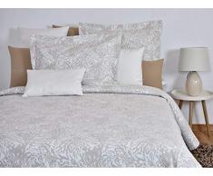 MI CASA Tagesdecke, Baumwolle, Beige, 250 x 265 cm (150 cm)