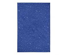 Lichtblick Vorhang Haftfix, 130 x 200 cm in Blau, Verdunkelungsrollo mit Saugnäpfen, Sicht- & Hitze-Schutz, ideal für Kinderzimmer und Reisen
