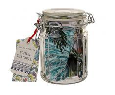 Ulster Weavers Handtuch Tropical Birds Baumwolle Geschirrtuch in EIN Glas (Maßnahmen 48x 73,9cm Jar Maßnahmen 8,9x 14cm H)