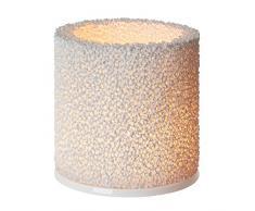 Iittala 1006284 Fire Teelichthalter, 11 cm, weiß