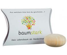 Baumstark Handschmeichler 45mm mit Baumhoroskop, Holz, Feigenbaum, 8 x 11.5 x 2.8 cm