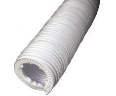 Xavax Abluftschlauch für Wäschetrockner, Durchmesser 10,2 cm, Länge 12 m