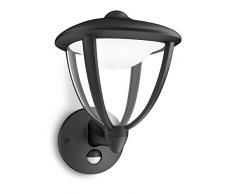 Philips myGarden LED Wandleuchte Robin 1-flammig, schwarz 154793016