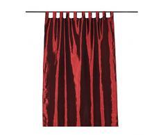 Mendola Home Textiles 10-14ROYAL-4002 Schlaufenschal, 140 x 245 cm, bordeaux