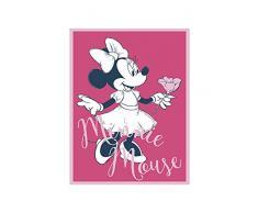 Disney Wandbild von Komar | Minnie Mouse Girlie | Kinderzimmer, Babyzimmer, Dekoration, Kunstdruck | Größe 30x40cm (Breite x Höhe) | ohne Rahmen | WB048-30x40