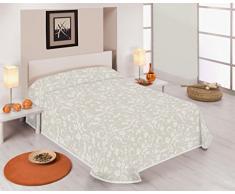 Sabanalia Tagesdecke Fina dekorativ Cama 105-200 x 280 cm weiß