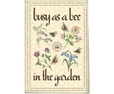 """Creative Tops Geschirrhandtuch aus Baumwolle mit dem Motiv """"königlicher, botanischer Garten mit Lavendel"""" Busy Bees blau"""