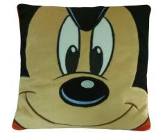 Mickey & Friends 14968 - Mickey bedrucktes Kissen, 33 x 33 cm