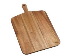 Jamie Oliver JB1902 JO Akazie Schneidbrett mit Griff - groß, Holz, braun, 52,0 x 32,0 x 2,0 cm