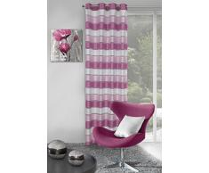 Eurofirany, Ösenschal Bess, rosa, 140x250 Vorhang, 100% Polyester, 0.02 x 140 x 250 cm