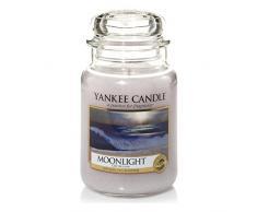 Yankee Candle 1507654E Duftkerze Glas, 9,80 x 9,80 x 17,50 cm, graublau