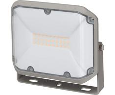 Brennenstuhl LED Strahler AL 2000 / LED Fluter für außen, LED-Außenstrahler zur Wandmontage, 20W, warmweißes Licht, IP44