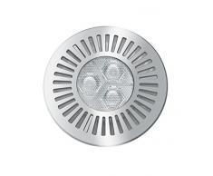 Osram LED-Deckenleuchte, Tresol, silber, Einbaustrahler, anschlussfertig, 4,5 Watt, Warmweiß-3200K
