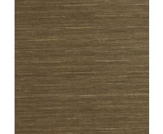 Gardinia 30217 Flächenvorhang natur-optik inklusiv Aluminium Unterprofil, von unten einkürzbar, 60 x 245 cm, nougat