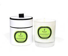 Kerzen Aromatherapie, Aroma Lime Basilikum Mandarine