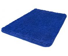 Kleine Wolke Badteppich, Blau, 70 x 120 cm