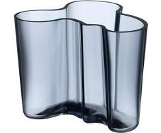 Iittala 1007823 Aalto Vase, 120 mm, regenblau