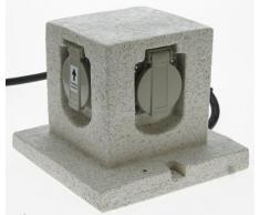 Heitronic 36315 Außenleuchte, Kunststoff, grau