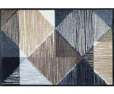 Wash+Dry Fußmatte Lines and Boxes 50x75 cm