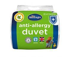 Silentnight Bettdecke für Allergiker, weiß, King Size