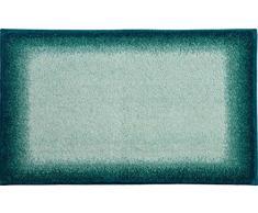 Grund Badteppich 100% Polyacryl, ultra soft, rutschfest, ÖKO-TEX-zertifiziert, 5 Jahre Garantie, AVALON, Badematte 70x120 cm, petrol