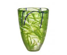 Kosta Boda Contrast Vase, Limettengrün