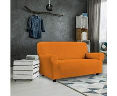 PETTE Sofabezug aus italienischem Stil 4 Posti (220 a 260 cm) Arancione