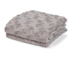 Plaid Lugga 130x180 cm Sand - Tagesdecke Sofa überwurf Decke Decken Bettüberwurf