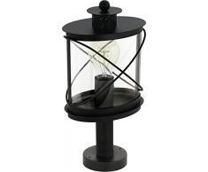 Eglo Außenlampe Sockellampe Sockelleuchte 94864 41cm E27 LED Hilburn IP44 Schwarz