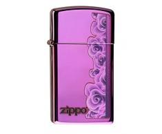 Zippo SEXY Hotpants Feuerzeug, Messing, Lila, One Size