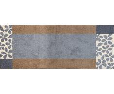wash + dry 64589 Fußmatte Florita, 115x175 cm, grau