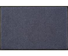 Wash+Dry Fußmatte Stahlblau 60x90 cm