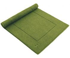 möve Superwuschel Badteppich 60 x 100 cm aus 100% Baumwolle, peridot