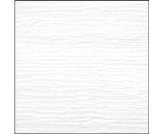 Gardinia Flächenvorhang (1 Stück), Schiebegardine, Blickdicht, Flächenvorhang Natur-Optik, Knitter-Optik, Weiß, 60 x 300 cm (BxH)