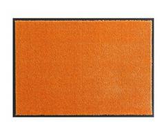Hanse Home Waschbare Schmutzfangmatte Soft & Clean Orange, 58x90 cm