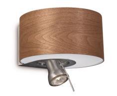 Philips 372575316 Wandstrahler, Holz, silber
