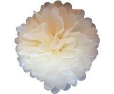 Matissa 25cm, Pom Pom/Pompons aus Seidenpapier, 10Stück, Hochzeit, Partydekoration, über 20Farben zur Auswahl