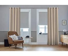 Schöner Wohnen Vorhang nach Maß Creme mit Multifunktionsband, 285L/130W, SW-Ribbon verfügbar - Andere Größen verfügbar