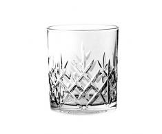 Crystaljulia 2917 Whiskyglas Bleikristall 6 Stück, 320 ml
