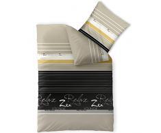 Design Sternentraum gelb Tr/äumeland TT19201 Ausstattungs-SET 3-teilig: Bettw/äsche aus feinster mehrfarbig weicher Baumwolle