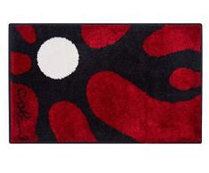 Grund COLANI Exklusiver Designer Badteppich 100% Polyacryl, ultra soft, rutschfest, ÖKO-TEX-zertifiziert, 5 Jahre Garantie, Colani 12, Badematte 60x100 cm, rot