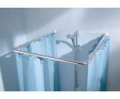 Kleine Wolke Universalstange für Dusche oder Badewanne Chromfarbig 3 Grössen Ø 21mm
