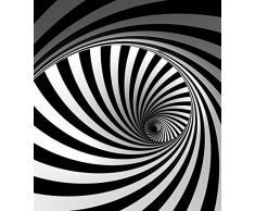 AG Design FTL 1615 Spirale, Papier Fototapete - 180x202 cm - 2 teile, Papier, multicolor, 0,1 x 180 x 202 cm