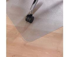 LEVIATAN Fussbodenmatte   Bürostuhl Unterlage Universell   Bodenschutzmatte Bürostuhl Transparent   Unterlage Schreibtischstuhl 1200x900mm