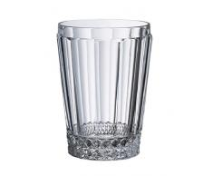 Villeroy & Boch Charleston Wasserglas, Kristallglas, 120mm